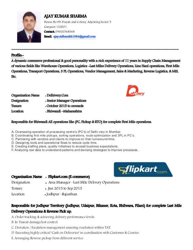 Ajay resume pdf