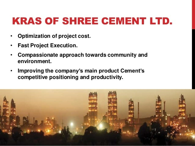 Shree Cement Limited : Organizational structure training