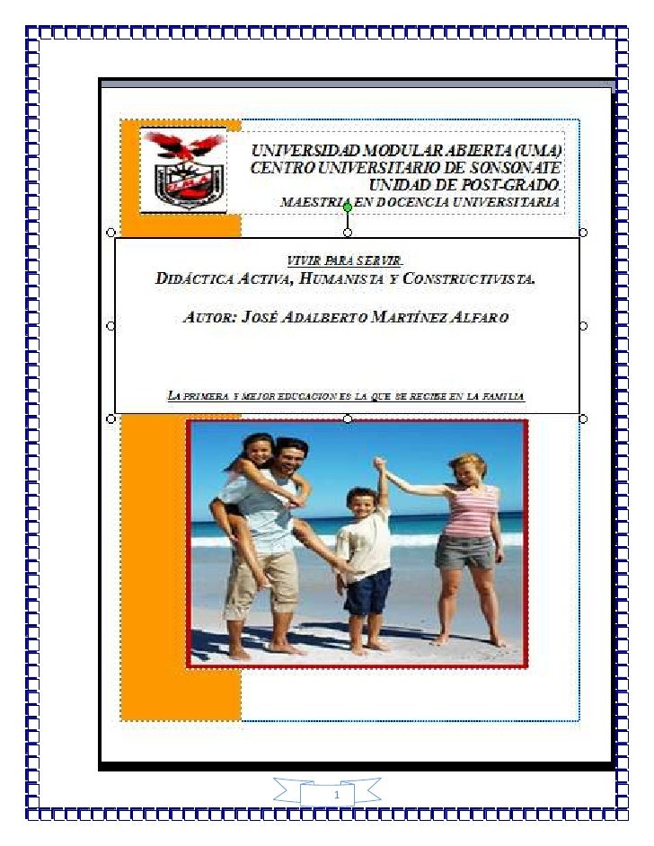 Índice<br />ContenidosPág.        Introducción        Didáctica  Activa4        Acciones que fortalecen la Escuela Activa7...