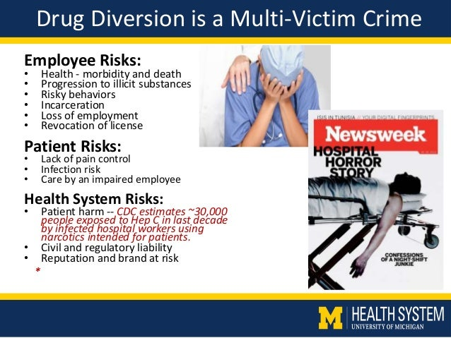 drug diversion The essex drug diversion program is designed for non-violent offenders with substance abuse issues, who are charged with drug-related offenses the philosophy of diversion: the essex district attorney's drug diversion program is a pre-arraignment and post-arraignment program for non-violent .