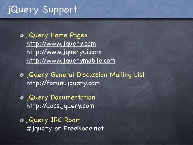 JQuery 101