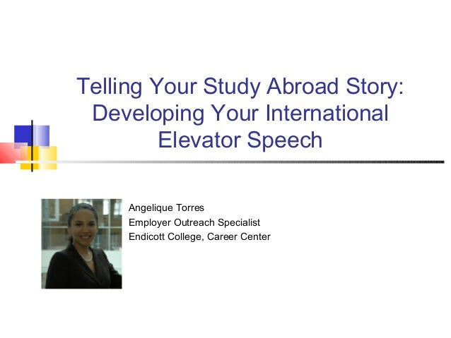study abroad speech Getting ready for speech pathology/audiology programs while you are at rutgers yet another way to satisfy the prerequisites is to take advantage of study abroad program i here are some schools abroad that offer speech pathology programs important.