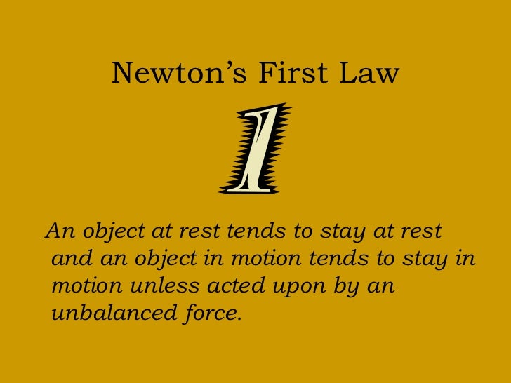 Newton s third law - Newton S 3 Laws Of Motion