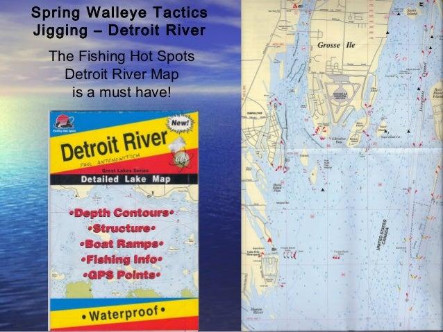 Dr Sportswalleyeseminarspringmethods - Lake erie fishing hot spots map