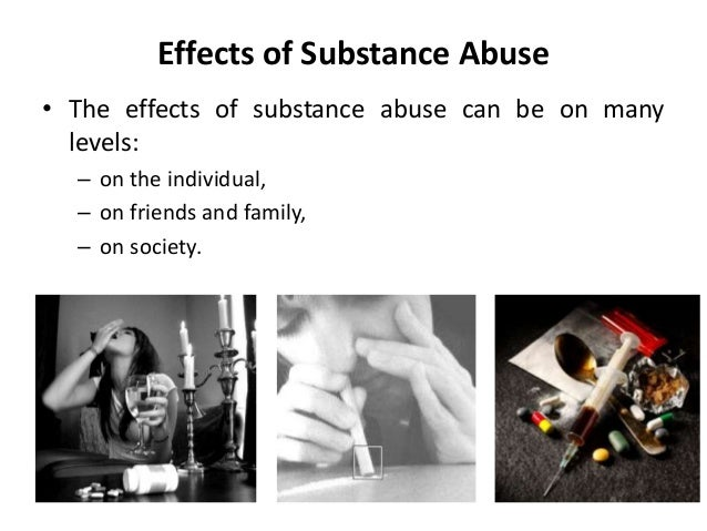 A study of the negative impact of alcohol and drug abuse