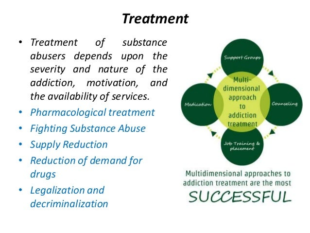 drug addiction treatment essay Introduction drug addiction is the continued use of any substance, medical or herbal this has been occurring for many years throughout the world our aim of the assignment is first, to make people aware of the drug addition that is occurring now, the effects of drug addiction.