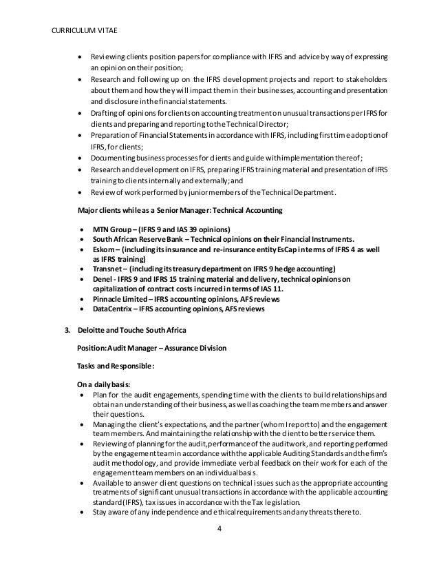 Curriculum Vitae Zambia Status Tagplus Com Br