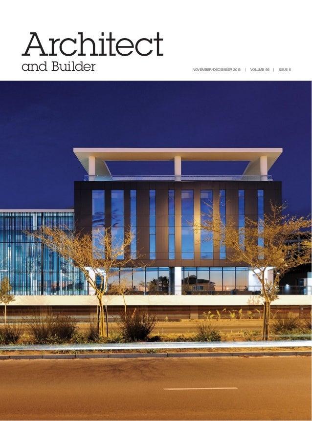 Architect and builder magazine south africa november december