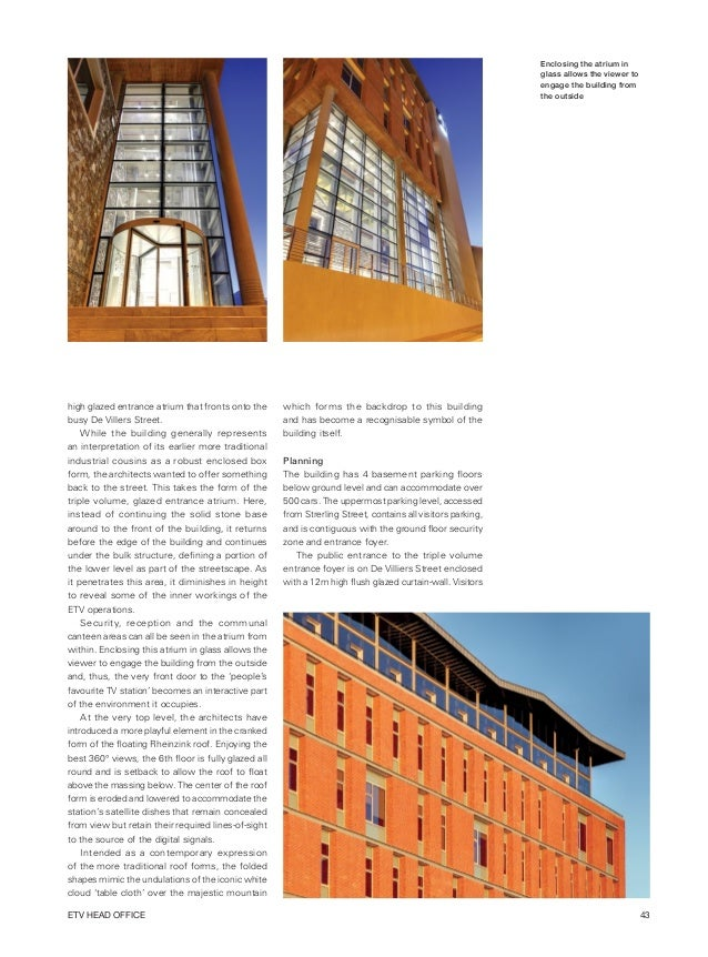 Architect and Builder Magazine South Africa November