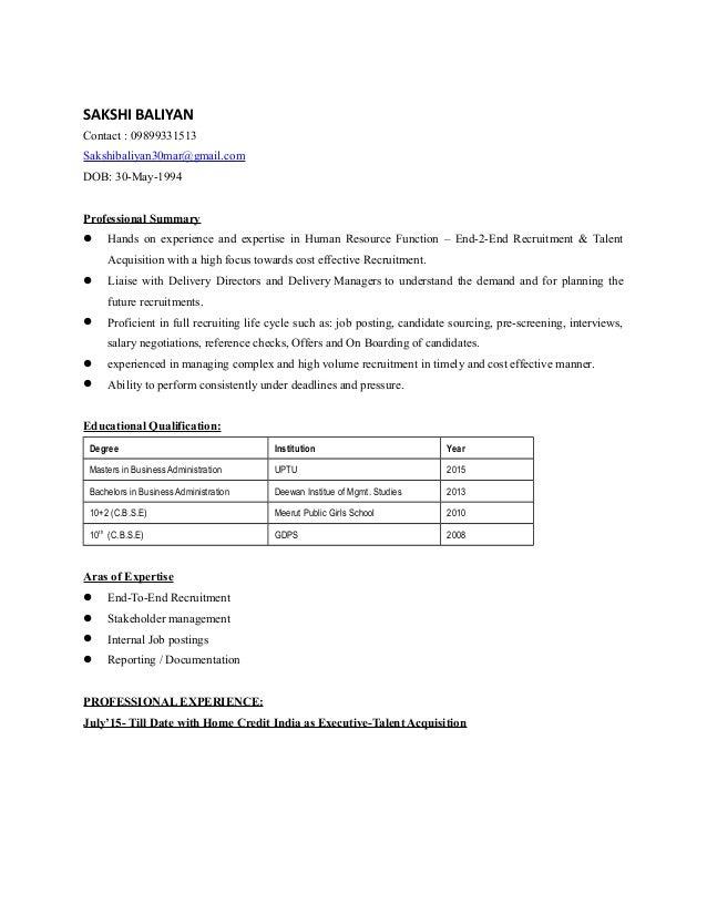 SAKSHI BALIYAN-Resume