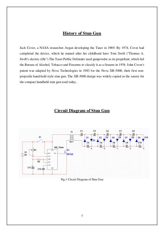 Simple Taser Circuit