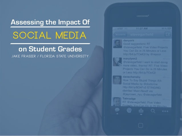 Assessing the Impact Of on Student Grades Social Media Jake Frasier / Florida State University
