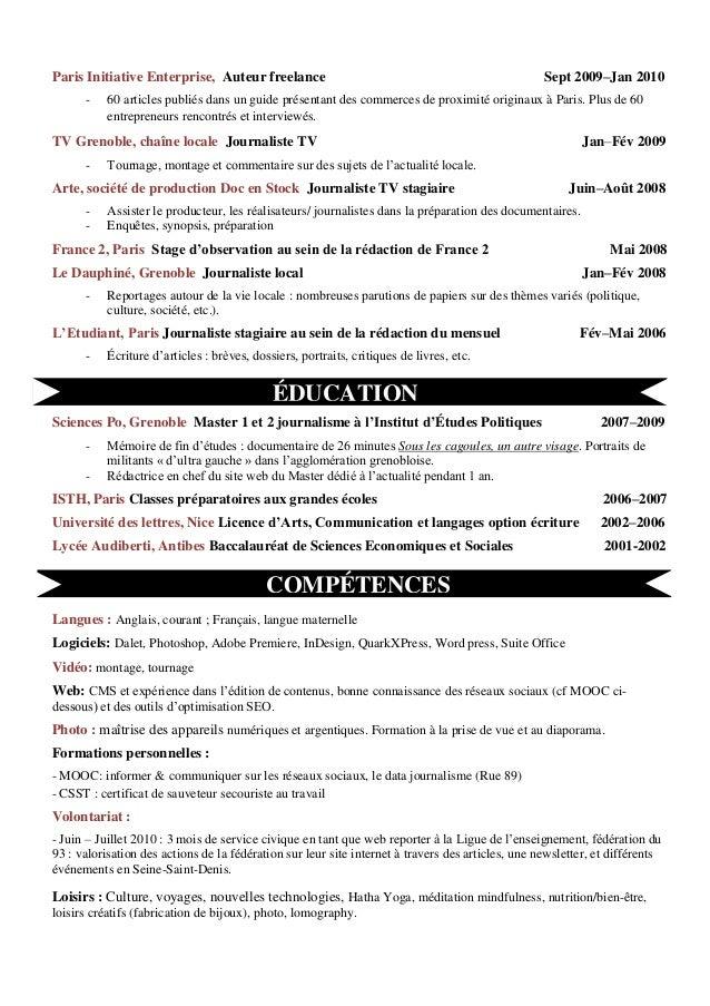 cv ornella bosquier fr