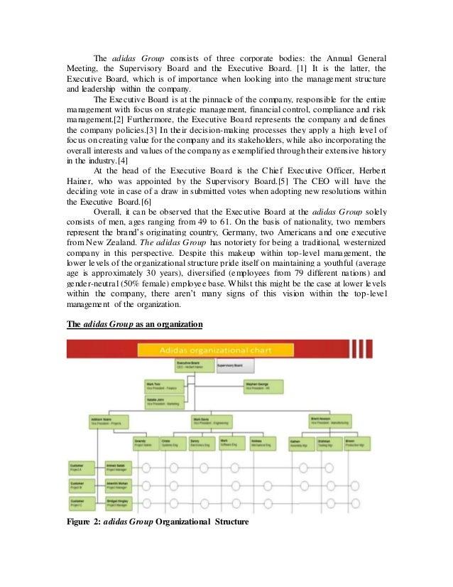 puma organizational chart