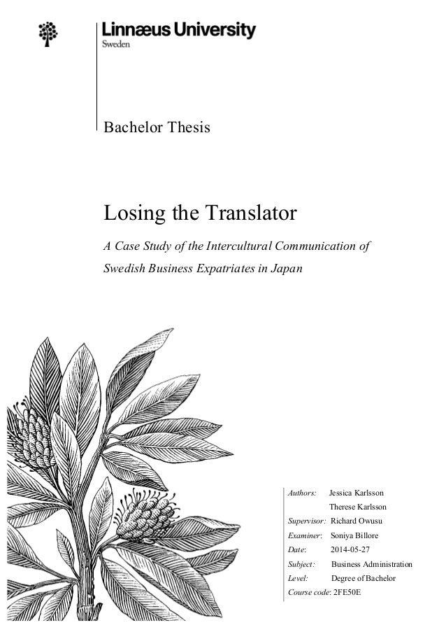 thesis supervisor tlumacz