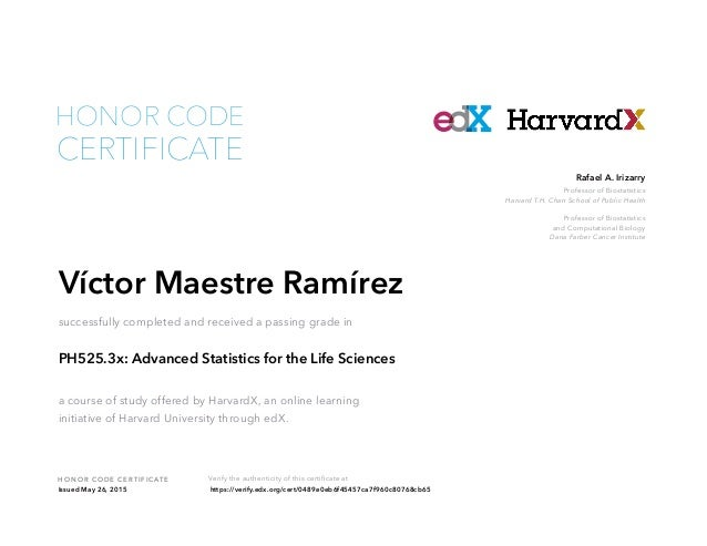 Advanced Statistics for the Life Sciences