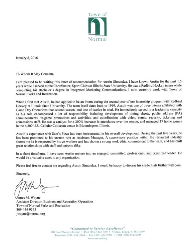 professional recommendation letter professional letter of recommendation hockey 24106 | professional letter of recommendation hockey 1 638