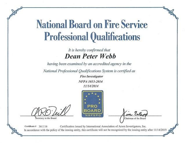 Pro Board Certification