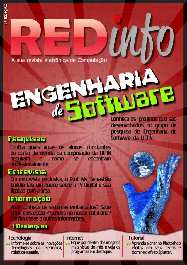 Engenharia  d e  Software Conheça os projetos que são  desenvolvidos no grupo de  pesquisa de Engenharia de  Software da U...
