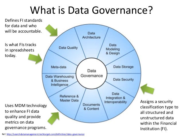 Enterprise Data Governance for Financial Institutions
