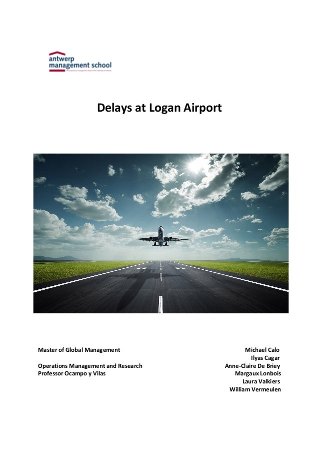 Delays At Logan Airport Essay Sample