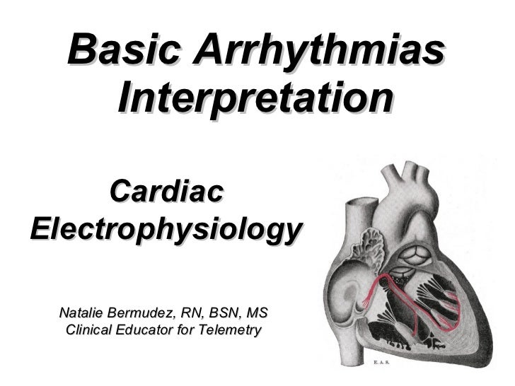 Introduction To Electrophysiology - SlideShare