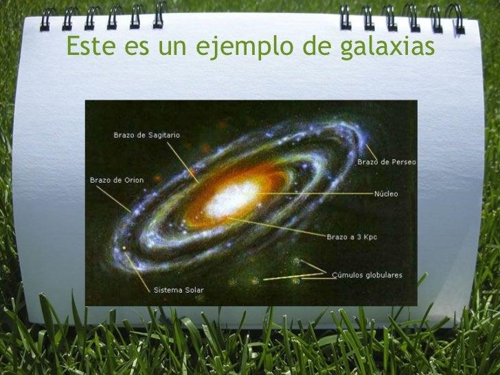 Este es un ejemplo de galaxias