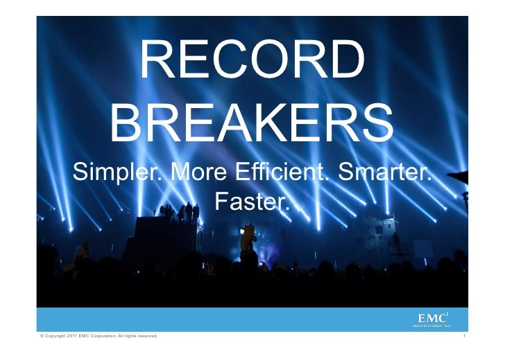 RECORD                               BREAKERS              Simpler. More Efficient. Smarter.                          Fast...