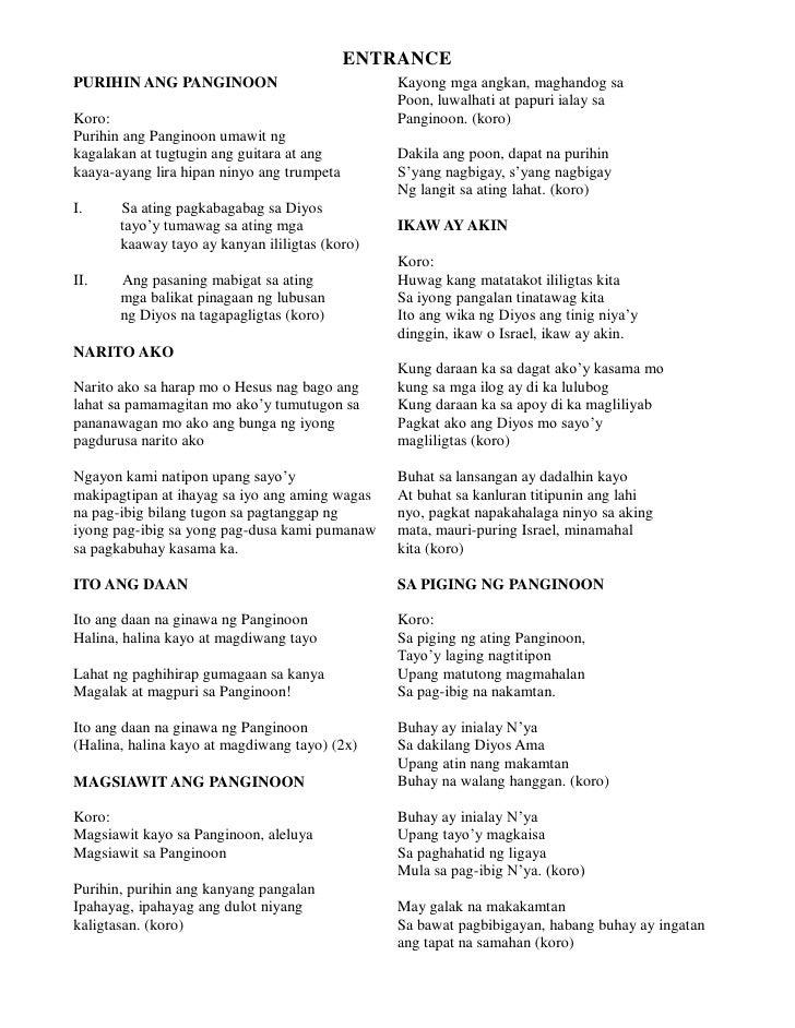 Langit - Malayang Pilipino Chords and Lyrics ~ Filipino ...