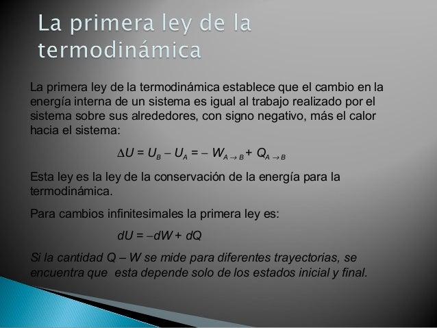 1 era y 2da ley de la termodinamica 1 for Trabajo de interna en barcelona