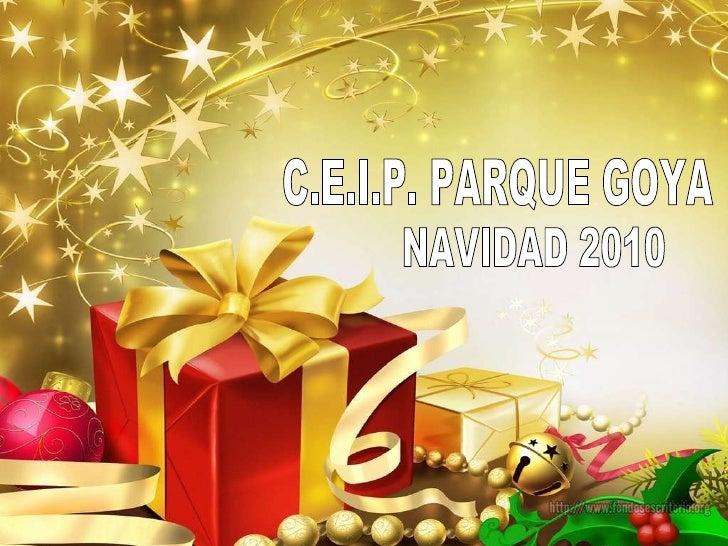 C.E.I.P. PARQUE GOYA NAVIDAD 2010