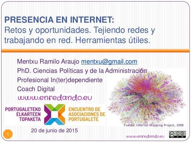 1 Fuente: Internet Mapping Project, 1998 Mentxu Ramilo Araujo mentxu@gmail.com PhD. Ciencias Políticas y de la Administrac...