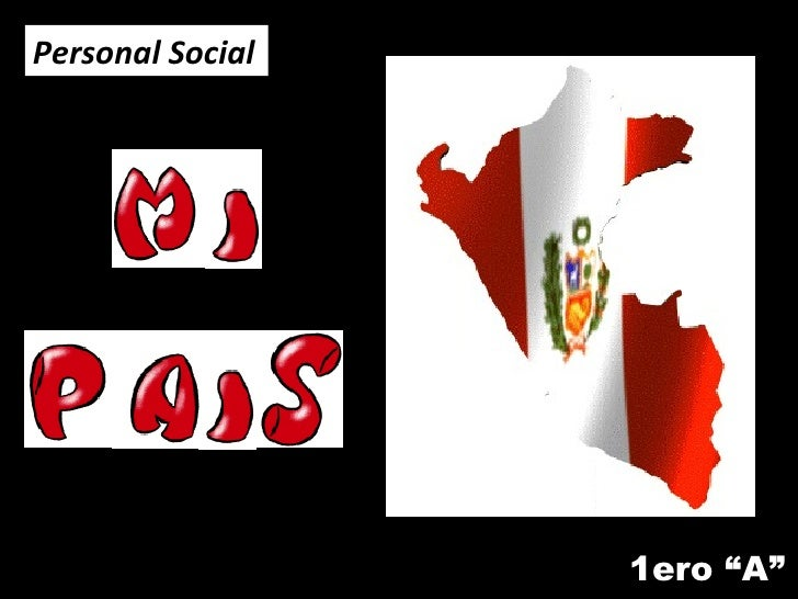 "1ero ""A"" Personal Social"
