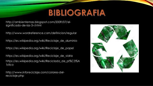 Las 5 erres ecologicas for Significado de ornamental wikipedia