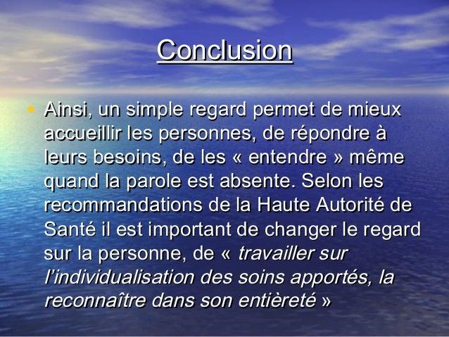 La Bientraitance Dans Les Soins Concours Mnh Ifsi 2009