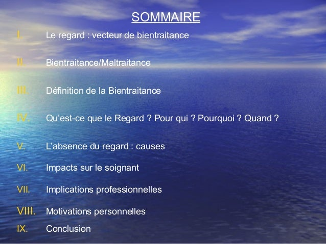 La bientraitance dans les soins - Concours MNH/IFSI 2009 - 1er Prix Slide 2