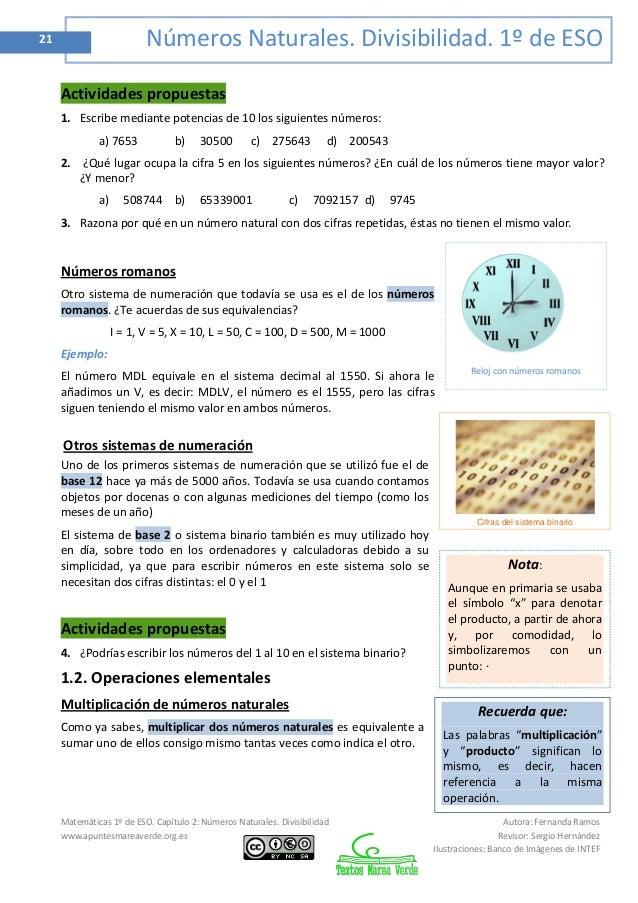 1 Eso Matemáticas Mareaverde Org