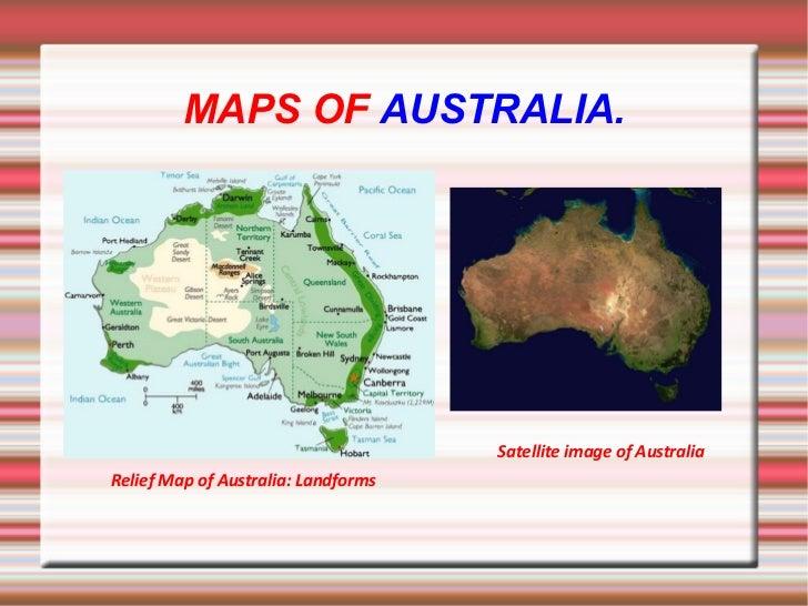 1 ESO Social Sciences Project AUSTRALIA – Map of Australia Landforms