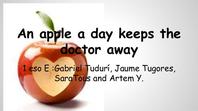 1 eso e english recipes an apple a day keeps the doctor away 1 eso e gabriel tudur forumfinder Image collections