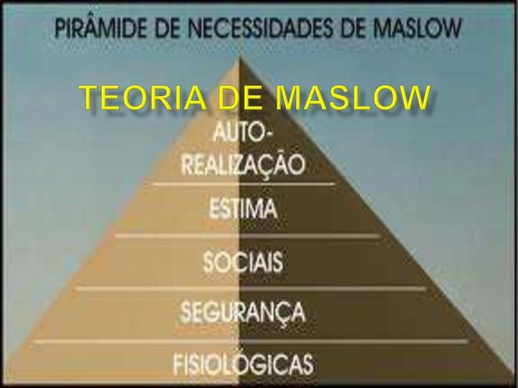    Abraham Harold Maslow nasceu no Brooklin, Nova Iorque, em    primeiro de Abril de 1908;   Descendente de pais russos,...