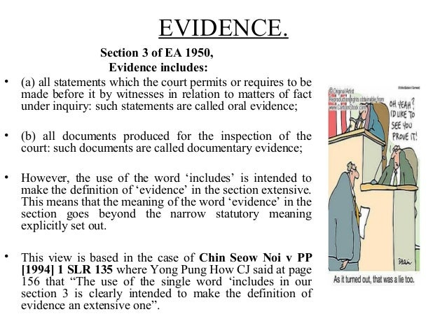 """direct evidence as for oral evidence Oral, documentary and circumstantial evidence : as discussed above, all facts (except two sections 56 and 58) (ii) oral evidence must in all cases be """"direct."""