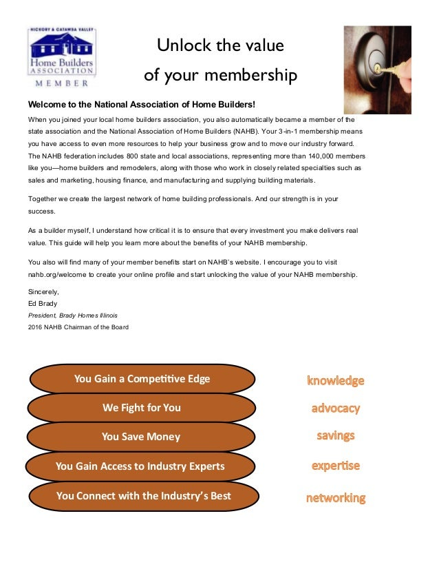 unlock the value of your membership