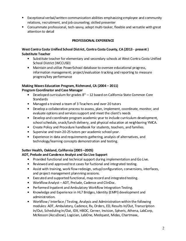 Gaybriel Professional Resume