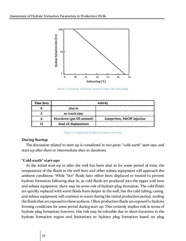 Subsea well assessment thesis