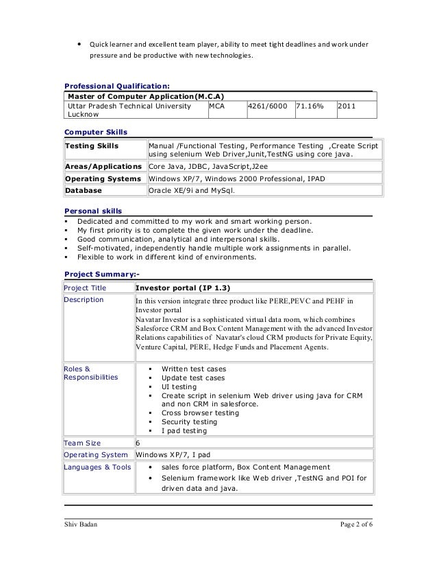 ability to meet deadlines resume