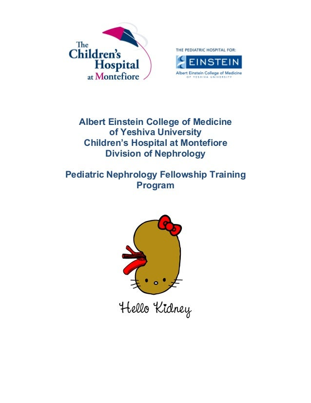 Pediatric Nephrology Program Outline 2015