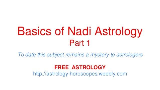 Nadi astrology | Free Horoscope | Free Horoscope Predictions | Free Horoscope Matching |