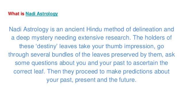 Basics of nadi astrology part 1
