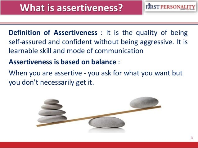 assertiveness paper A lesson plan from life planning education: a youth development program purpose: to assess assertiveness materials: three pieces of construction paper markers.