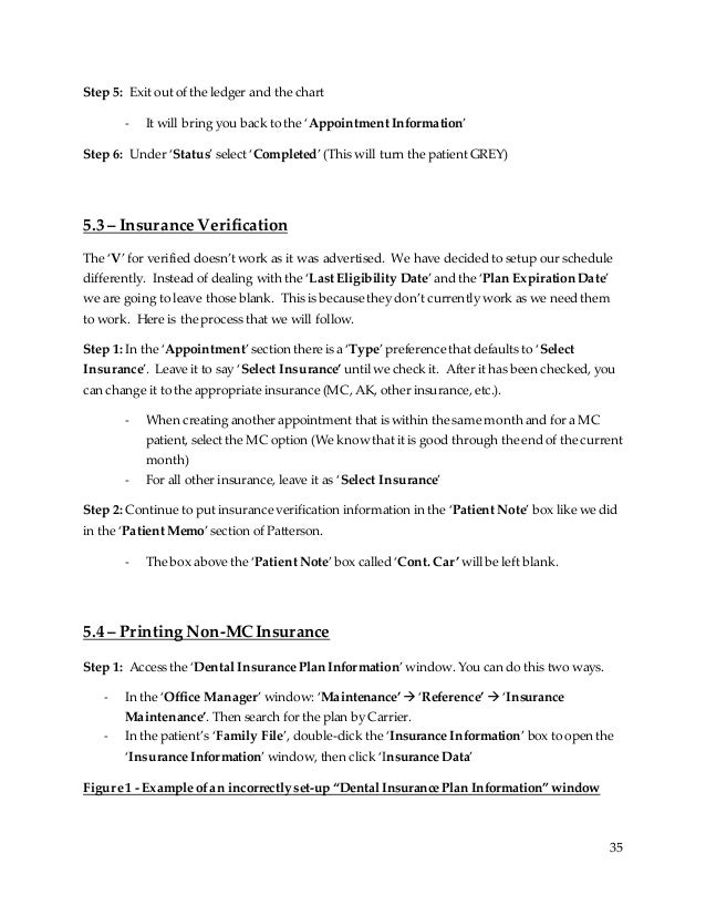 insurance sop template  Office Manager SOP Manual